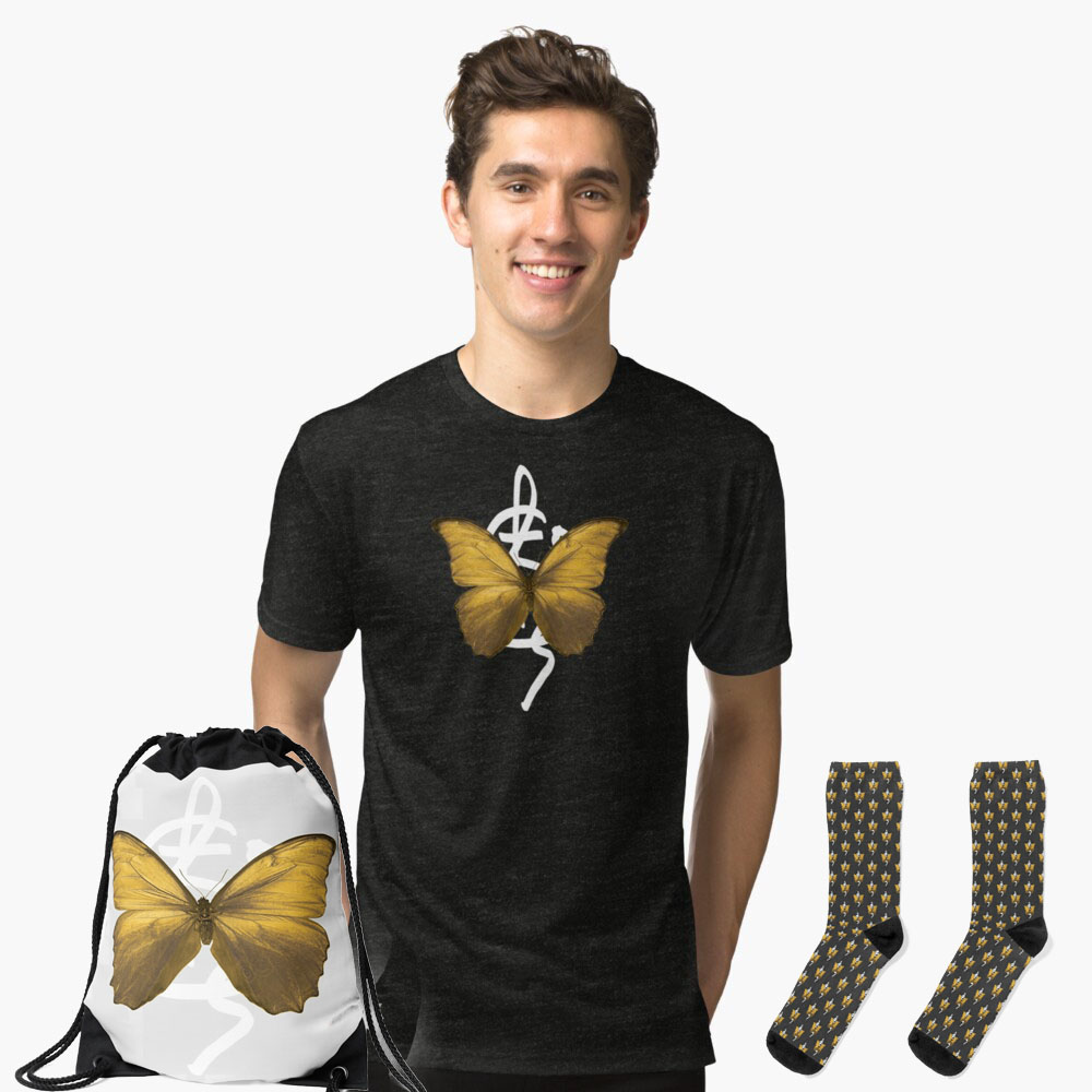 jlc gold butterfly